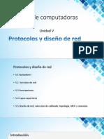 Protocolos y Diseños de Red