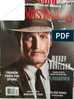 Woody Harrelson Interview 2019