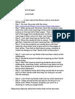 kente cloth pdf