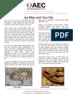 SnakeBite Client Handout NATIONAL