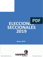 Encuestas elecciones seccionales