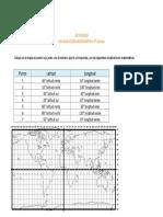 Guía coordenadas 4º