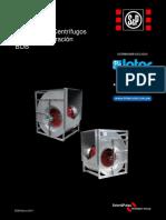 Ventiladores Centrifugos BDB Intercool 2