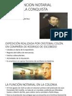 La Funcion Notarial en La Conquista