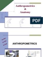 Anthropometrics Anatomy