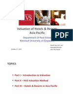 Valuation of Hotels & Resorts_ Asia Pacific NUS - Distribution