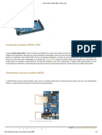 Placa Arduino MEGA 2560 - Embarcados