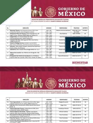 Módulos Bienestar Tijuana 060219 América Latina Política