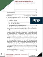 Metodologias de Imvestigacion Para La Evaluacion de Impacto Ambiental