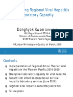 Strengthening Regional Viral Hepatitis Laboratory Capacity