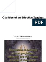 Effective Teacher