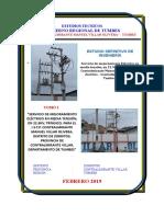 Servicio de mejoramiento Eléctrico en media tensión, en 22.9KV, para el I.S.T.P. Contralmirante Manuel Villar Olivera – Zorritos – Contralmirante Villar - Tumbes