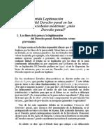 Lectura 5. El Derecho Penal Ante Las Sociedades Modernas