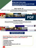 01. Paparan Permendagri 86 Tahun 2017 Penyusunan RPJMD Dan Renstra