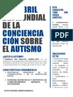 2 de abril                            Día mundial de la concienciación sobre el autismo.docx