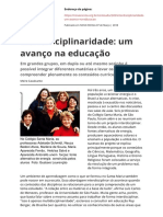 Interdisciplinaridade Nova Escola