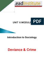 Cxc Cape Sociology - Unit 2 Module 2 - Deviance and Crime - February 2014