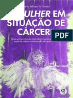 OLIVEIRA, Camila. A mulher em situação de Cárcere.pdf