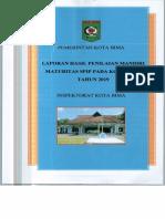 Laporan Hasil Penilaian Maturitas SPIP pada Kota Bima tahun 2019.pdf