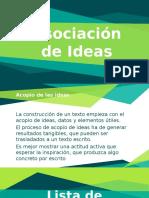 Asociación de Ideas