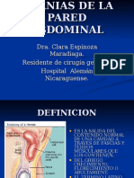 Hernias de La Pared
