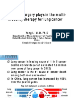 Lung Cancer (Prof Li Yong)