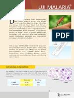 Brosur Malaria