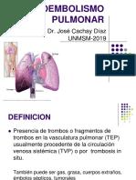 2. Tromboembolismo Pulmonar-dr. Jose Cachay Diaz