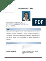 Hoja de Vida Yuli Paola Ok