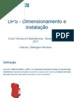 dps dimensionamento e instalação
