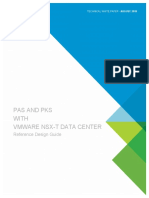 Reference Design Guide for PAS and PKS With NSX-T