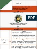 Analisis Manajemen Penyelenggaraan Makanan Instalasi Gizi RSUD Kabanjahe