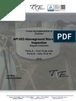 JULIO 2019 - Curso preparación API 653