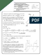 Examen Electricidad y Magnetismo