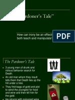 Pardoners Tale PowerPoint SY15