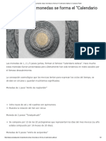 """Juntando Estas Monedas Se Forma El """"Calendario Azteca"""" _ Ciudad y Poder"""