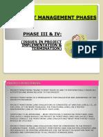 PM Lecture X Slides