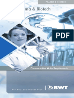 Pharmceutical Production Water