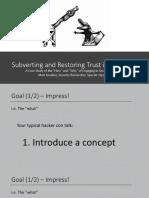 SubvertingTrust_Graeber_SpecterOps