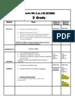 Tareas 2-6 Octubre Tercero