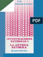 Investigaciones Retóricas I - La Retórica Antigua.pdf