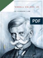 (John Harvard library) Oliver Wendell Holmes, G. Edward White - The Common Law-Harvard University Press (2009) (1).pdf