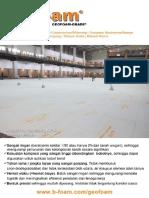 b Foam Geofoam Grade Brochure ID V1.0