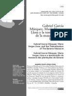 Vargas Llosa y Marquez Bananeras