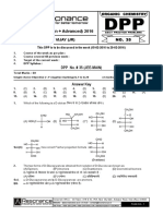 35. DPP No.35 (Org) With Ans (Main) Carbohydrates