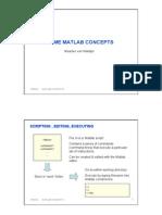 Matlab Concepts