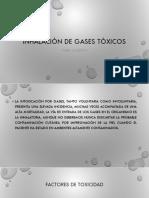 Inhalación de Gases Tóxicos