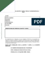 Modelo Ficha Autor Logo y Cartel 75 Aniversario CNSE