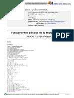 FUNDAMENTOS BÍBLICOS DE LA TEOLOGÍA CATÓLICA Pardo Fuster, Enrique.pdf