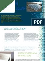 Energias Alternativas. Paneles Solares